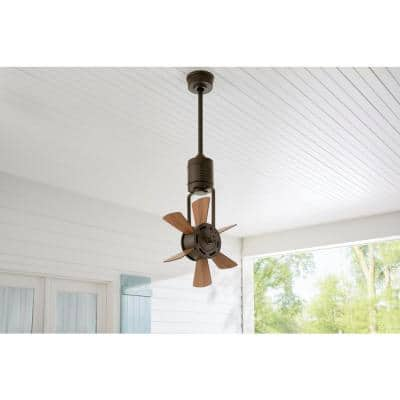 Windhaven 20 in. Outdoor Espresso Bronze Ceiling Fan with Remote Control