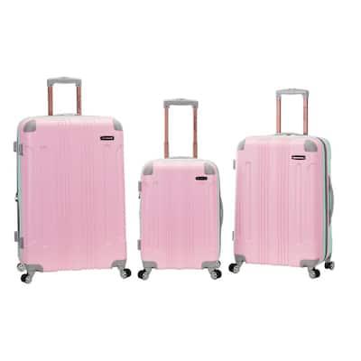London 3-Piece Hardside Spinner Luggage Set, Mint