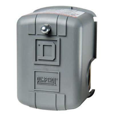 30-50 psi Pumptrol Well Pump Water Pressure Switch - Clear Packaging