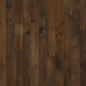 American Originals Carob Maple 5/16 in. T x 2-1/4 in. W x Varying L Solid Hardwood Flooring (40 sq. ft. /case)