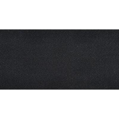Natural Accents Black 4.75 in. Cotton Binding