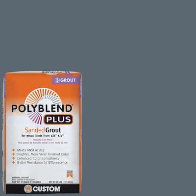 Polyblend Plus #645 Steel Blue 25 lb. Sanded Grout