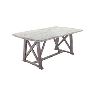 Teak Patio Tables Patio Furniture The Home Depot