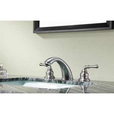 Princess 8 in. Widespread 2-Handle Bathroom Faucet in Brushed Nickel
