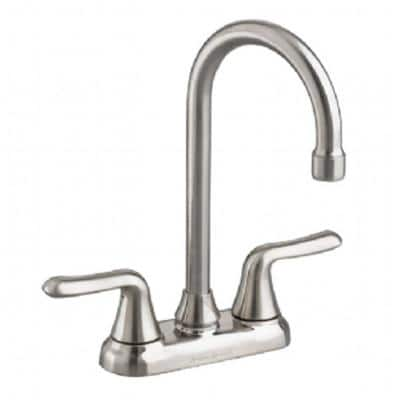 Colony Soft 2-Handle Bar Faucet with 1.5 gpm in Stainless Steel
