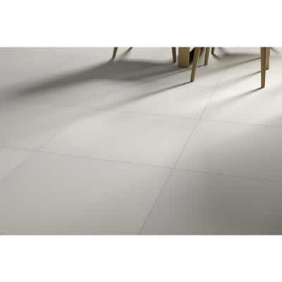 Council Silver 23.62 in. x 23.62 in. Matte Porcelain Floor and Wall Tile (15.5 sq. ft./Carton)