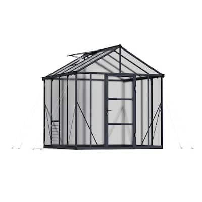 Premium Class 8 ft. x 8 ft. Glory Greenhouse