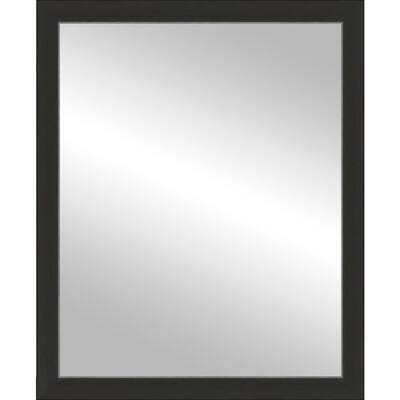 24x30 Port Espresso/Silver Framed Mirror