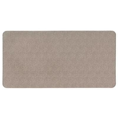 Texture 20 in. X 39 in. Ivory Anti-Fatigue Mat