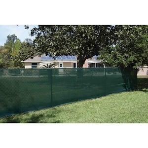 Xcel 72 In H X 300 In W Polyethylene Green Privacy Wind Screen Garden Fence Fs0625 85g The Home Depot