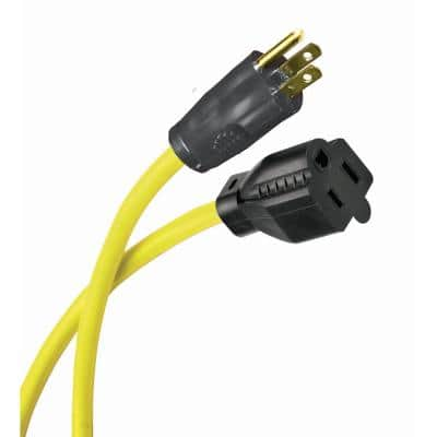 25 ft. 12/3 Husky Extension Cord, Yellow