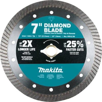 7 in. Diamond Blade, Turbo, Soft Material