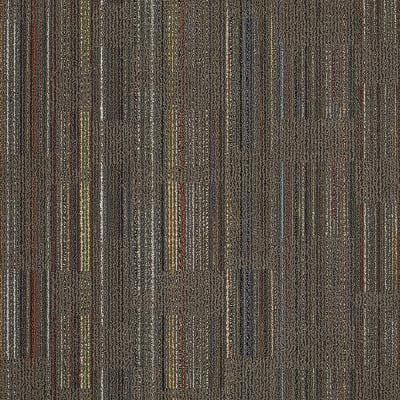 Designer Brown Loop 24 in. x 24 in. Modular Carpet Tile Kit (18 Tiles/Case)