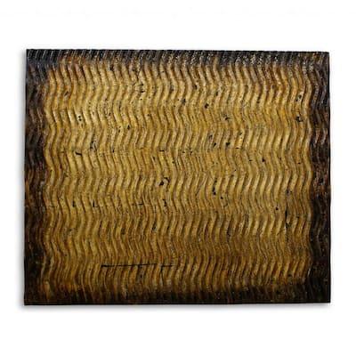 Mariana Indoor Bronze, Metallic S Pattern Wall decor