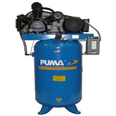 80 Gal. 7.5 HP Blue Electric 2 Stage Air Compressor