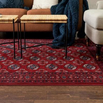 Crimson Area Rugs Rugs The Home Depot