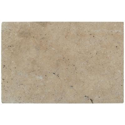 Tuscany Scabas 16 in. x 24 in. Gold  Tumbled Travertine Paver Tile (60 Pieces/160.2 Sq. Ft./Pallet )