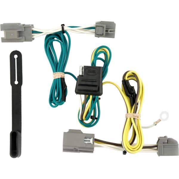 CURT Custom Vehicle-Trailer Wiring Harness, 4-Way Flat Output, Select Ford  Taurus X, Quick Electrical Wire T-Connector-56055 - The Home Depot   Ford Taurus Wiring Harness      The Home Depot