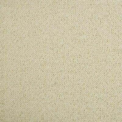 6 in. x 6 in. Berber Carpet Sample - Bismarck - Color Ivory