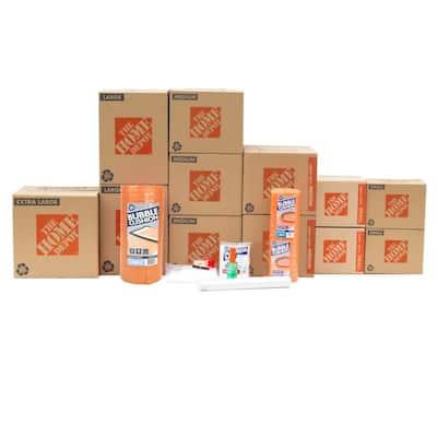 12-Box Living Room Moving Kit