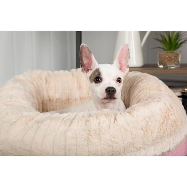Scruffs Ellen Xl Pink Polyester Donut Dog Bed Bed Rcd 820907 The Home Depot