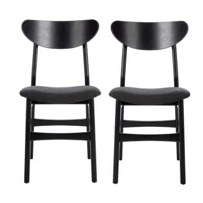 Lucca Black Dining Chair