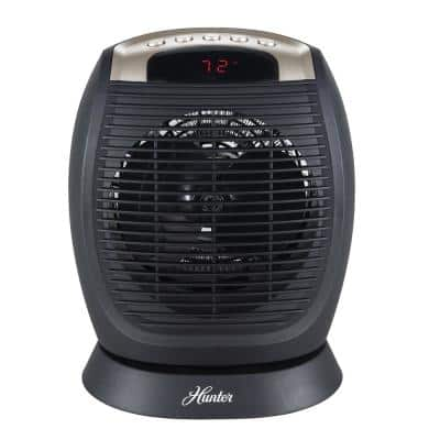 Digital Fan Heater with Oscillation and Thermostat