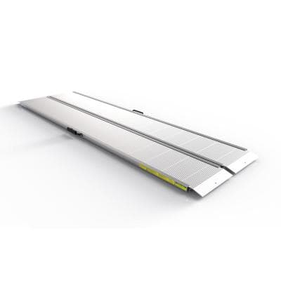 TRAVERSE 8 ft. Singlefold Edgeless Aluminum Loading Ramp