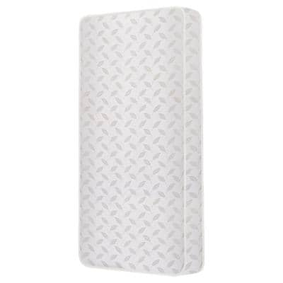 2-in-1 Breathable 132-Premium Coil Inner Spring Standard Crib And Toddler Mattress
