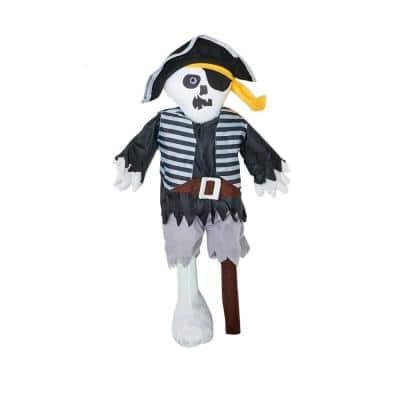 26 in. Standing Peg Leg Pirate