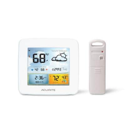 Wireless Weather Forecaster Temperature and Humidity