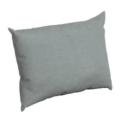 Stone Leala Texture Rectangle Outdoor Throw Pillow