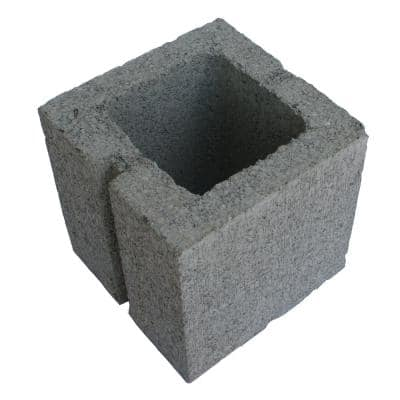 8 in. x 8 in. x 8 in. Concrete HW Half Block