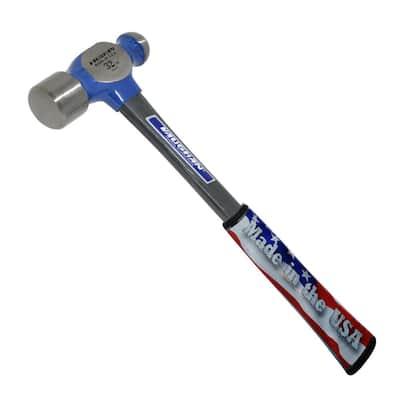 32 oz. Steel Ball Pein Hammer with 14 in. Fiberglass Handle
