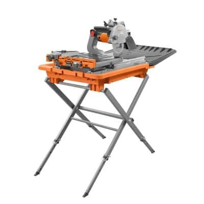 12 Amp Corded 8 in. Tile Saw with Extended Rip