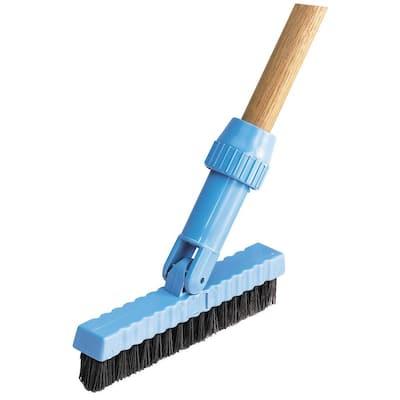 7-1/2 in. Black Pivoting Head Brush (12-Pack)