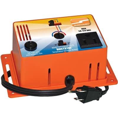 Ductstat Plug-In Thermostat Temperature Sensitive Switch
