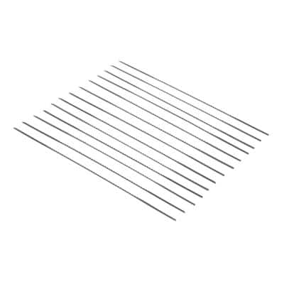 #5R Reverse-Tooth Pinless Scroll Saw Blades, 12-Pack