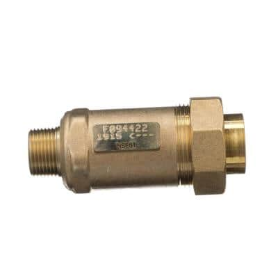3/4 in. Female Union Inlet x 3/4 in. Male Outlet 700XL Dual Check Valve
