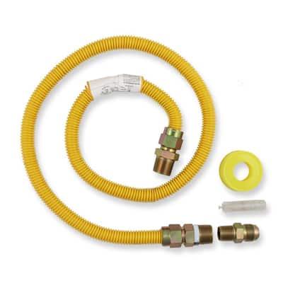 4 ft. Gas Range Connector Kit