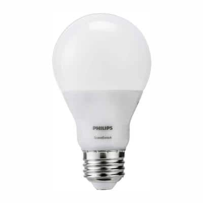 60-Watt Equivalent A19 SceneSwitch LED Light Bulb Daylight(5000K)/Soft White(2700K)/Warm Glow(2200K)