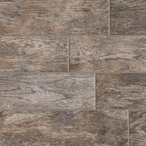 Montagna Rustic Bay 6 in. x 24 in. Glazed Porcelain Floor and Wall Tile (14.53 sq. ft. / case)