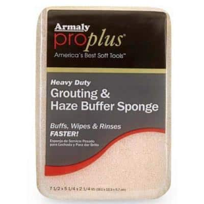 Sanded Grouting with Haze Buffer Sponge (Case of 12)