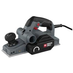 6 Amp 3-1/4 in. Corded Hand Planer with 2 Blades