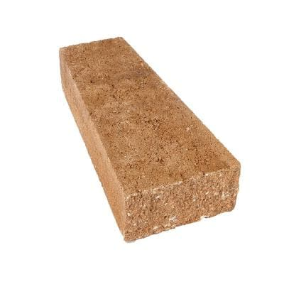 ProMuro 3 in. x 5.25 in. x 14 in. Prairie Brown Concrete Wall Cap (150 Pcs. / 65.6 Lin. ft. / Pallet)