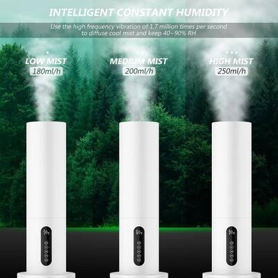 1.5 Gal 5.5 l Quiet Ultrasonic Cool Mist Humidifier
