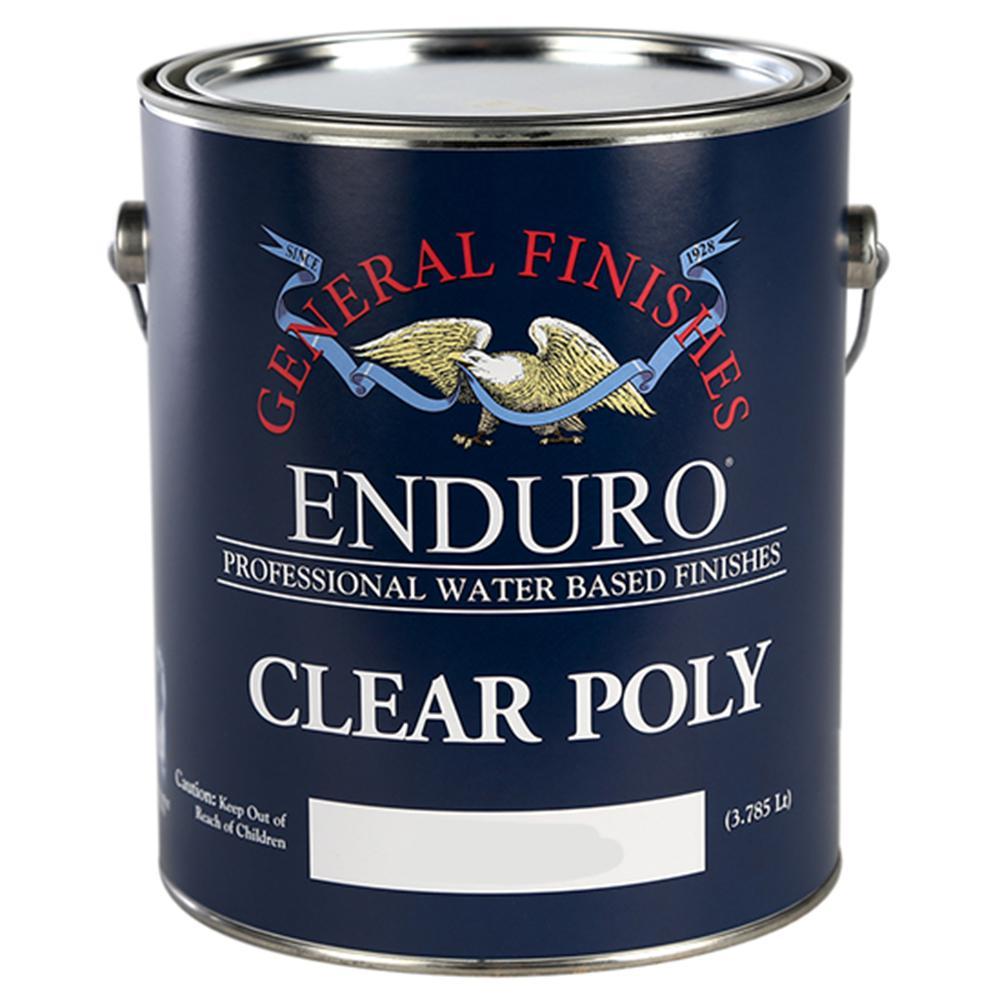1 gal. Satin Enduro Clear Poly Interior Topcoat