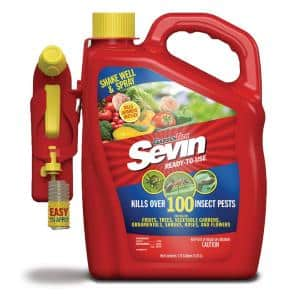 1.33 gal. Ready-to-Use Insect Killer with Battery Powered Sprayer