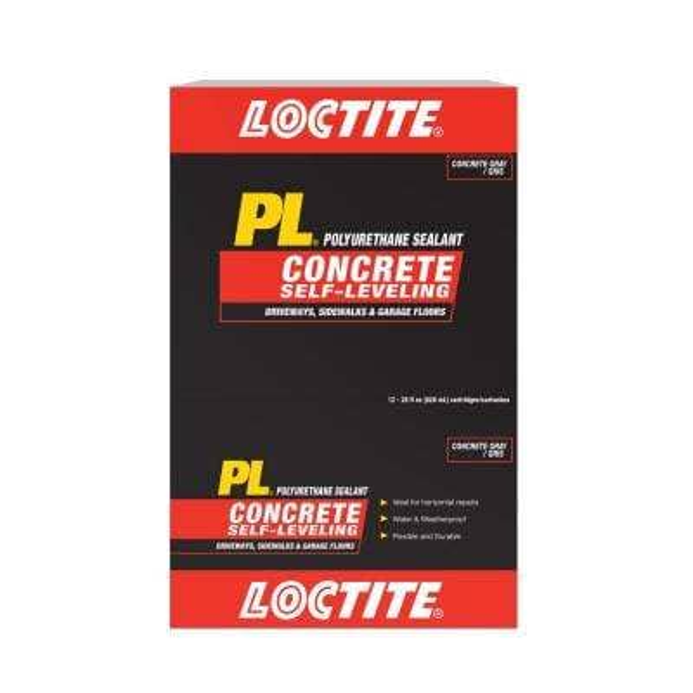 PL 28 oz. Gray Self-Leveling Concrete Sealant (12-Pack)