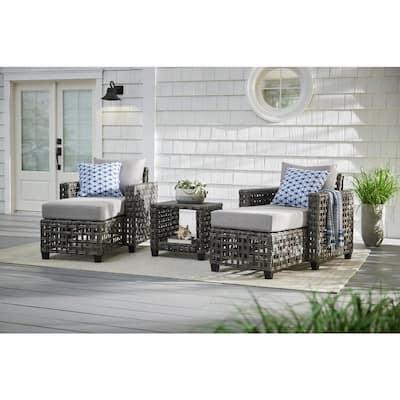 Briar Ridge Square Wicker Outdoor Patio Side Table